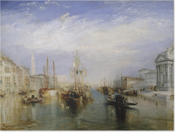 Poster William Turner - Grand Canal - Reproductions