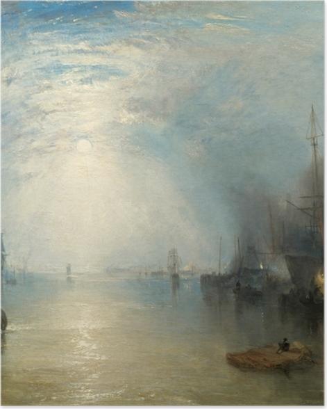 Poster William Turner - Keelmen Heaving in Coals by Moonlight - Reproductions