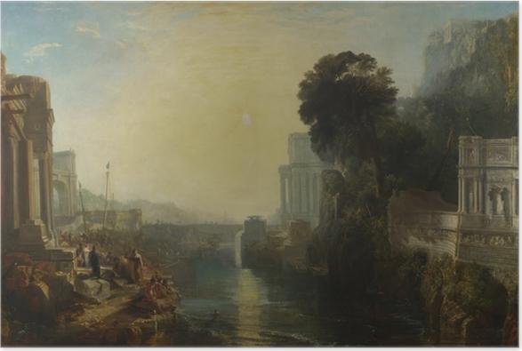 Poster William Turner - Le déclin de l'empire carthaginois - Reproductions
