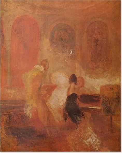 Poster William Turner - Musique à Petworth - Reproductions