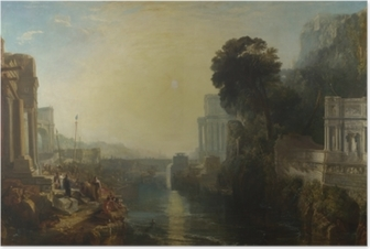 William Turner - The Decline of the Carthaginian Empire Poster