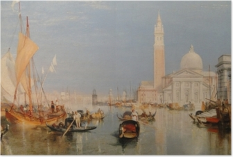 William Turner - The Dogana and San Giorgio Maggiore Poster