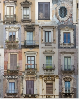 Windows from Sicily Poster