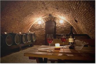 Póster Wine cellar