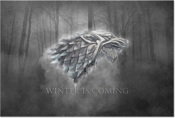 Poster Winter is coming - Thema's