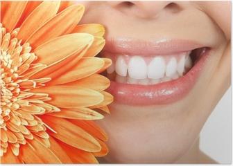 Woman teeth Poster