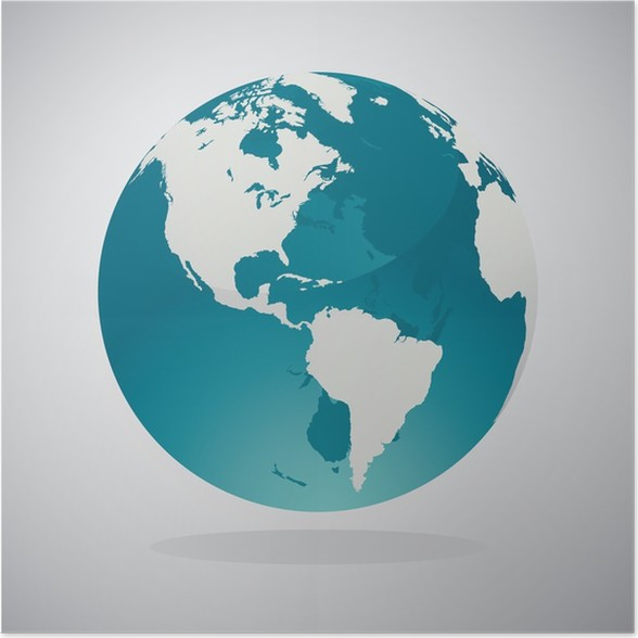 World globe maps poster pixers we live to change world globe maps poster gumiabroncs Images