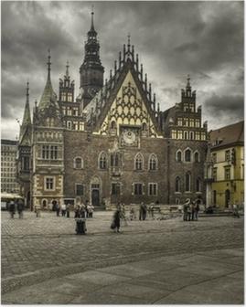 wroclaw- rynek Poster
