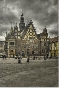 Poster Wroclaw-rynek