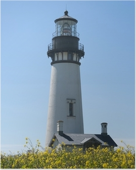 Yaquina Head Lighthouse, Newport, Oregon Poster