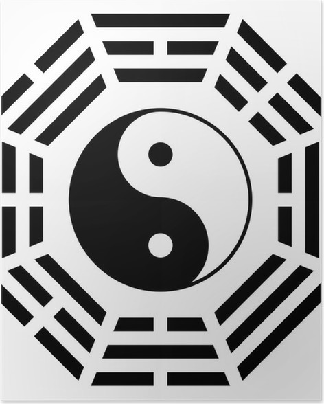 Yin Yang Symbol Of Harmony And Balance Poster Pixers We Live To