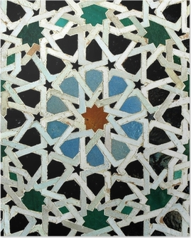 Zelliges (Fès, Maroc) Poster