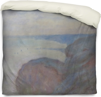 Poszewka na kołdrę Claude Monet - Klif nieopodal Dieppe