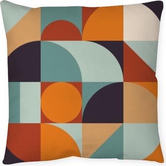 Povlak na polštář Abstraktní geometrie vzor grafický 12