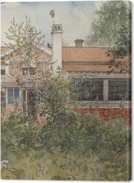 Premium Bilder Carl Larsson - Haus in der Sonne - Reproductions
