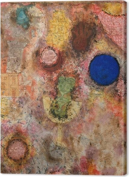 Premium Bilder Paul Klee - Zaubergarten - Reproduktion