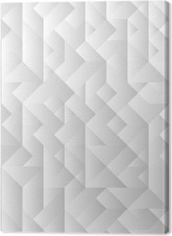 3d grey geometric background Premium prints