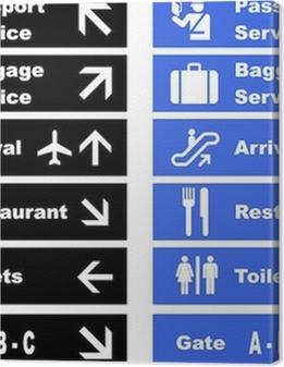 Airport Signs Premium prints