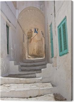 Alleyway. Ostuni. Puglia. Italy. Premium prints