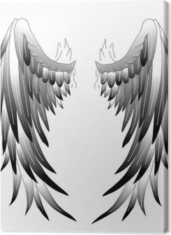 Angelwings Engelsflügel Tattoo Art 1 Premium prints