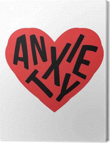 Anxiety. Premium prints - Demotivational