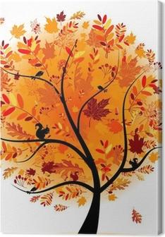 Beautiful autumn tree for your design Premium prints