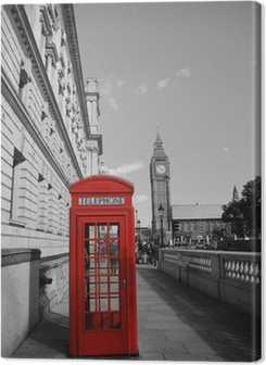 Big Ben and Red Phone Booth Premium prints
