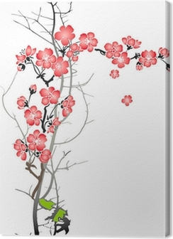 Blooming cherry Premium prints