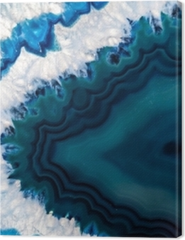 Blue Brazilian geode Premium prints