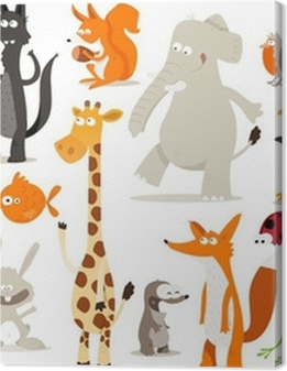 collection d'animaux pour enfants Premium prints