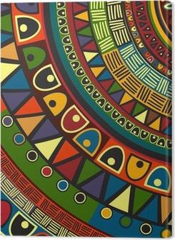 Colored tribal design Premium prints