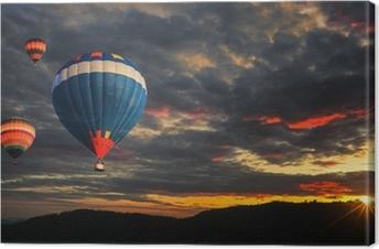 Colorful hot air balloon Premium prints