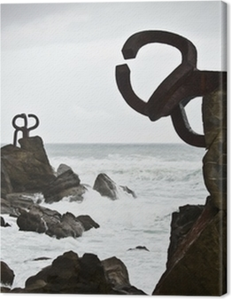 com of wind (Peine del Viento) - San Sebastian - Guipuzkoa Premium prints