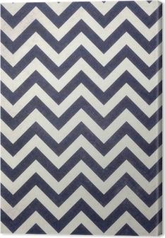dark navy blue and black chevrons texture on old white distressed background design, dark zigzag pattern, groovy vintage background Premium prints
