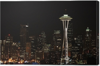 downtown seattle Premium prints