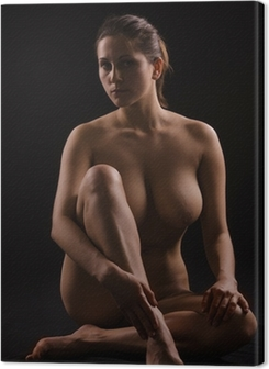 figure of a naked woman Premium prints