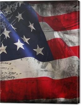 Flag of the USA (United States of America) Premium prints