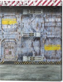 futuristic spaceship door Premium prints