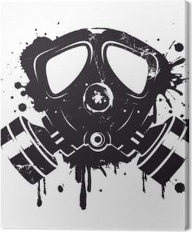 Gasmaske Graffiti Premium prints