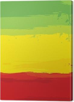 grunge background with flag of Ethiopia Premium prints