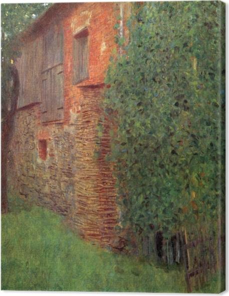 Gustav Klimt - House in Kammer Premium prints - Reproductions