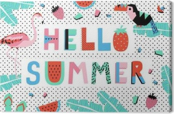 Hello Summer Poster Premium prints