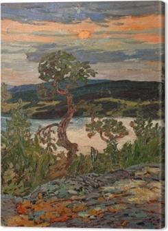 Helmer Osslund - Evening in Ångermanland Premium prints