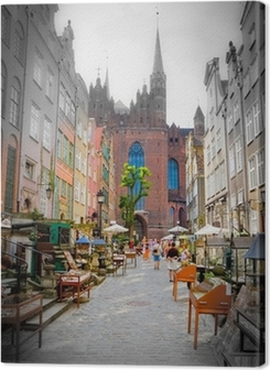 historic city of Gdansk Premium prints