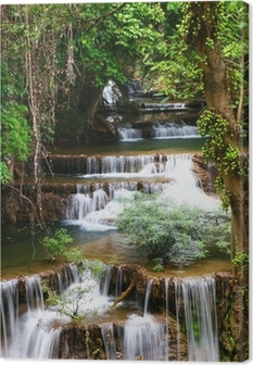 Huay mae kamin waterfall in Thailand Premium prints
