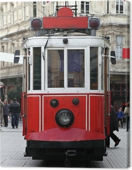 Istanbul Public Tram Premium prints