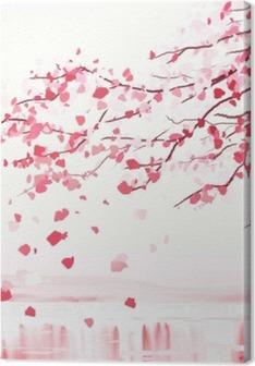 Japanese cherry tree Premium prints