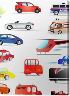 kraftfahrzeuge - set Premium prints