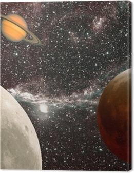 leçon d'astronomie, les planètes Premium prints