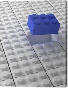 Lego background bw Premium prints